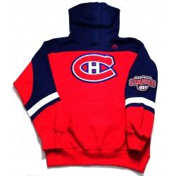 Sweat Enfant NHL à capuche Montréal Canadiens
