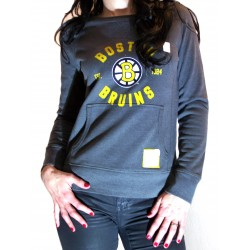"""Crew neck"" NHL Femme Bruins de Boston"