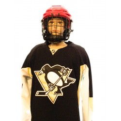 Maillot NHL enfant PITTSBURGH PENGUINS L/XL Noir/Blanc