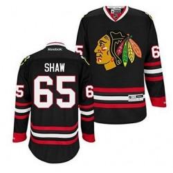 Maillot NHL Reebok Adulte Blackhawks 65 Shaw