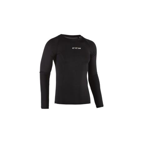 Tshirt CCM Performance Compression manches longues Jr