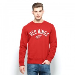 Pull NHL homme ras de cou Red Wings de Detroit